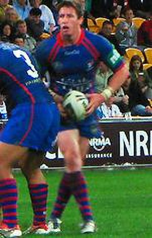 Kurt Gidley - Gidley playing for the Knights in 2008