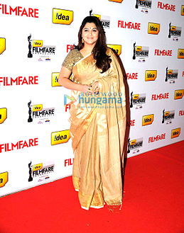 Kushboo at the 60th Filmfare Awards South