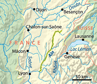 river in eastern France