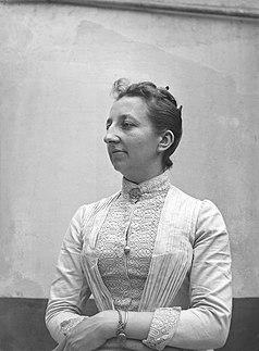 Léonie La Fontaine Belgian feminist and pacifist