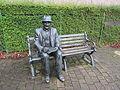 L. S. Lowry memorial, Mottram (1).jpg