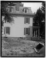 LEFT (SIDE) ELEVATION - Warren Wilkey House, 190 Main Street, Roslyn, Nassau County, NY HABS NY,30-ROS,7-4.tif