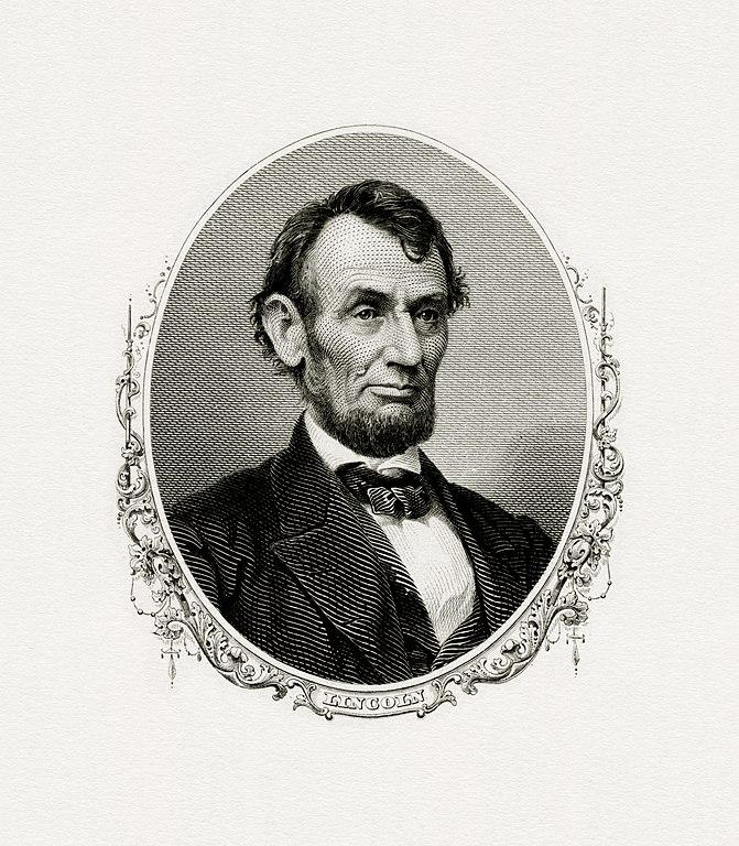 file lincoln abraham president bep engraved portrait jpg wikipedia. Black Bedroom Furniture Sets. Home Design Ideas