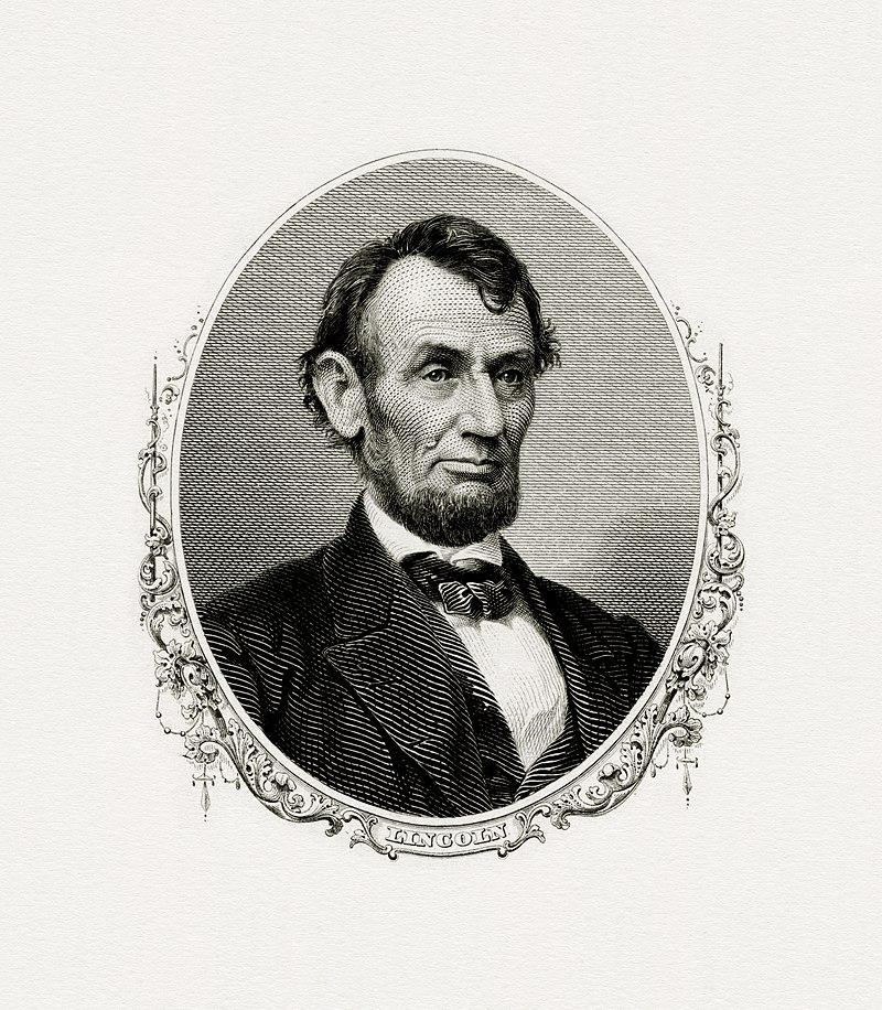 LINCOLN, Abraham-President (BEP engraved portrait).jpg