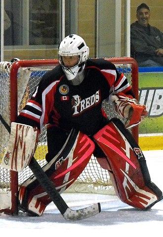 Komoka Kings - Predators goalie during 2014-15 season.