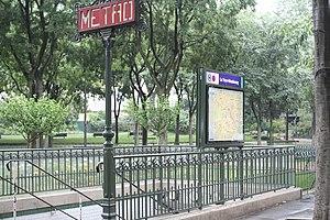 La Tour-Maubourg (Paris Métro) - Image: La Tour Maubourg (1)