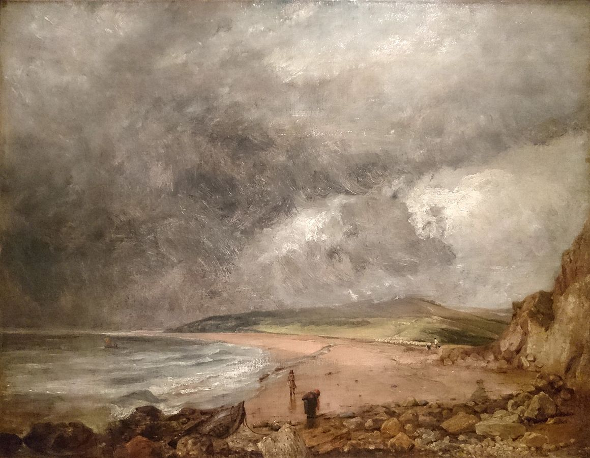 Weymouth Bay with Approaching Storm