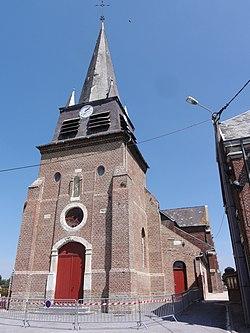 La Ferté-Chevresis (Aisne) église.JPG