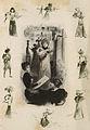 La Parisienne et caricatures, 1897.jpg