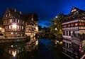 La Petit France at night - Strasbourg, France - panoramio.jpg