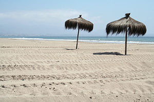 La Serena, Chile - The beaches, the main economic resource in tourism.