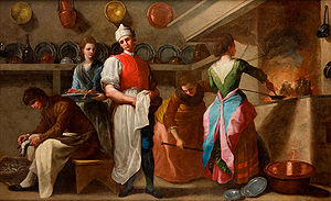 Ramón Bayeu - The Kitchen.