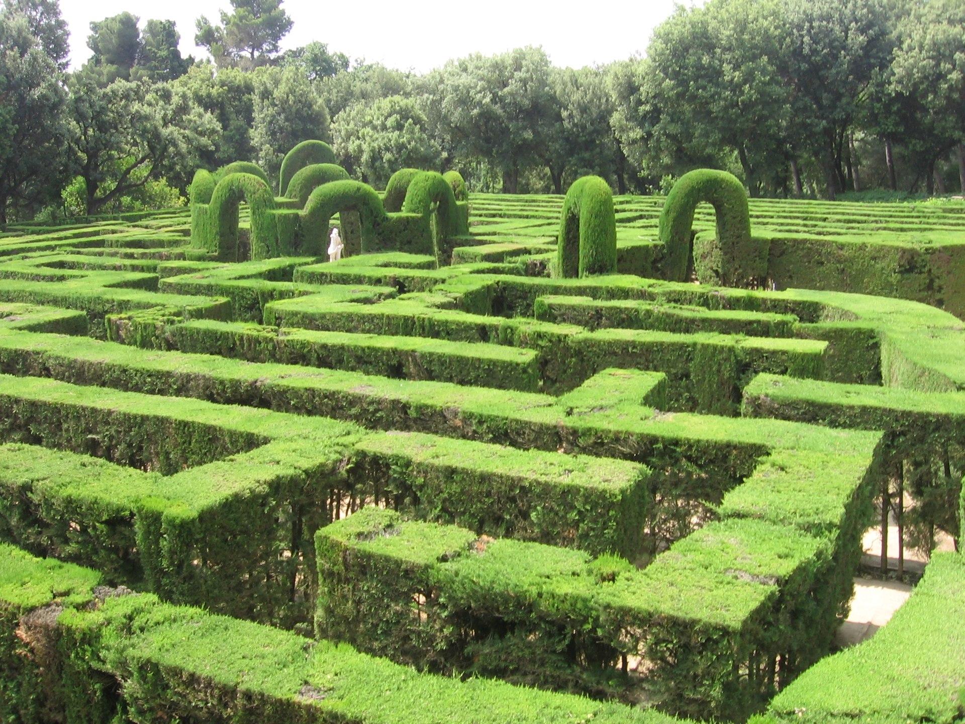 Parque del laberinto de horta wikipedia la enciclopedia for Para desarrollar un parque ajardinado