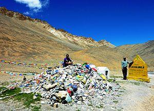 Lungalacha La - Lachulung La pass