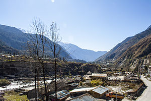 Lachung - Image: Lachung Town