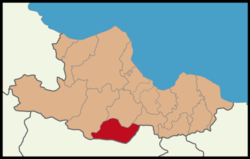 Ladik District Location in Samsun Province.png