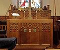 Lady chapel altar, St Oswald's Church, Bidston.jpg