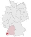 Lage des Landkreises Breisgau-Hochschwarzwald in Deutschland.png