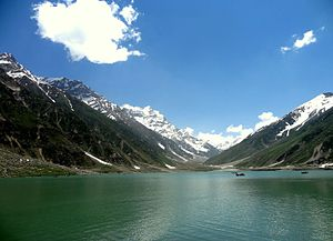 Lake Saiful Muluk - Saiful Muluk during June