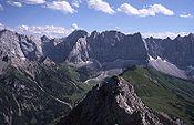 TOPO wandelkaart 5/1 - Karwendelgebirge West - Alpenverein