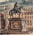 Lallemand Jean-Baptiste Vue de la place de belle court a Lyon détail.jpg