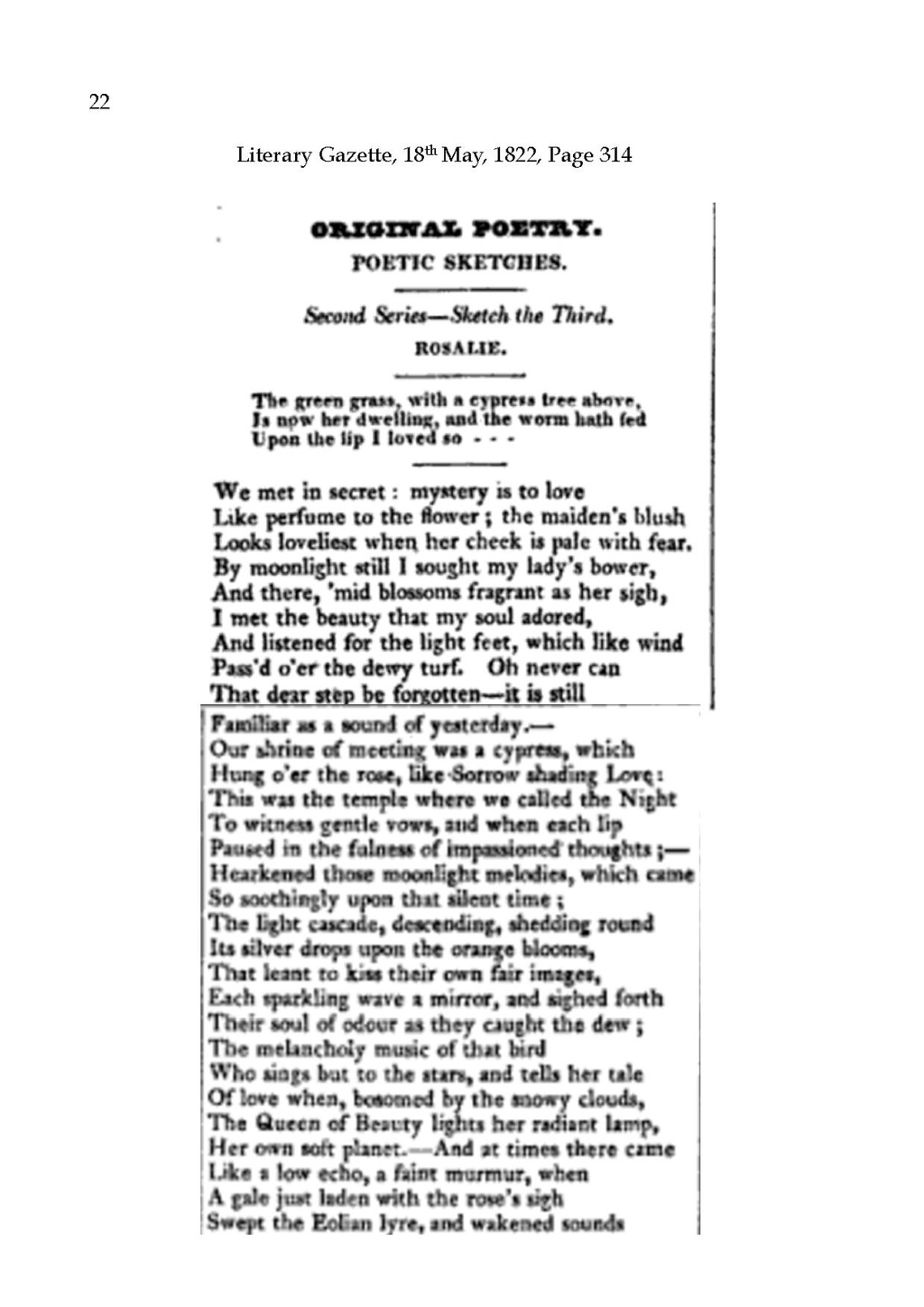 Page:Landon in Literary Gazette 1822 pdf/23 - Wikisource, the free