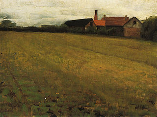 Landscape with Farm Building, Concarneau, France