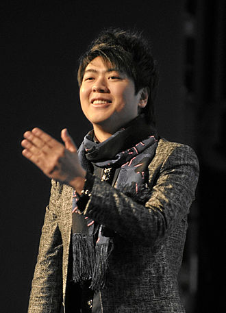 Lang Lang - Lang Lang after a performance at the World Economic Forum annual meeting in Davos, 2010