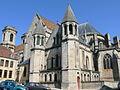 Langres - Cathédrale Saint-Mammès vue du chevet.JPG