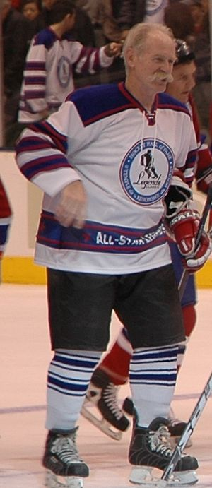 Lanny McDonald played with the All-Star Legend...