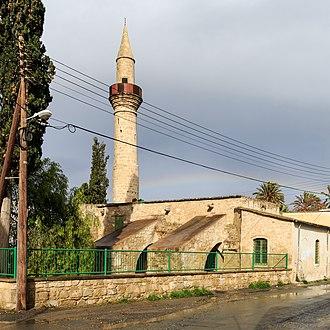 Islam in Cyprus - Image: Larnaca 01 2017 img 19 Tuzla Mosque