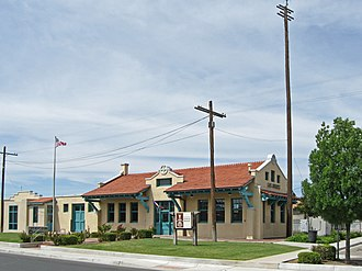 National Register of Historic Places listings in Doña Ana County, New Mexico - Image: Las Cruces New Mexico Railroad Museum