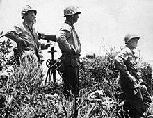 Gen. Buckner en Okinawa