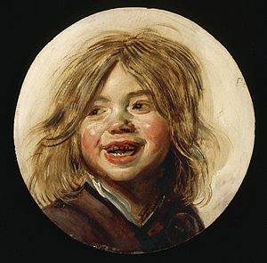 Laughing Boy with Flute - Image: Laughing Child LACMA AC1992.152.144
