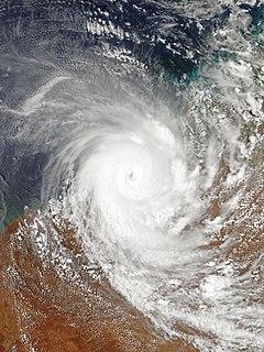 Cyclone Laurence Category 5 Australian region cyclone in 2009