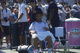 Laurent Recouderc French tennis player