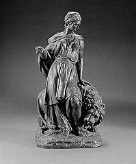 Female allegorical figure, Gratitude