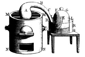 Antoine Lavoisier's famous phlogiston experime...