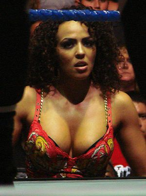 Layla El - Layla at a SmackDown! house show in 2007