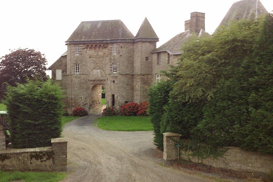 Le chateau du Mesnil-Amey]