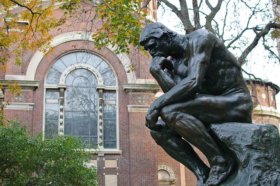 Le Penseur at Columbia University (6435262909)