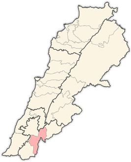 Lebanon districts Marjeyoun.png