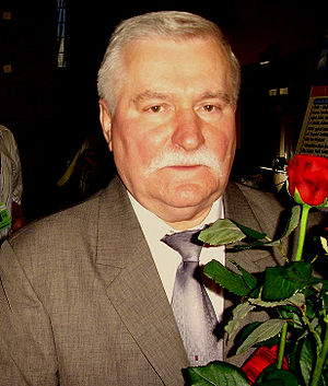 Polish presidential election, 1990 - Image: Lech Walesa