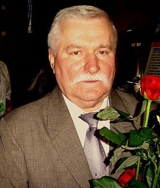 Polish presidential election, 1990 - Image: Lech Walesa