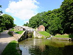 Bingley Five Rise Locks with Overflow Channel