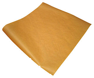 Parchment paper cellulose-based paper that is used in baking