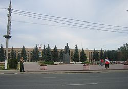 Monument to ولادیمیر لنین in Domodedovo