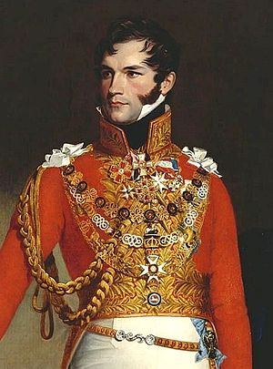 Leopold I of Belgium - Portrait by George Dawe