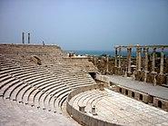 Leptis Magna Amphitheatre. (7251116584)