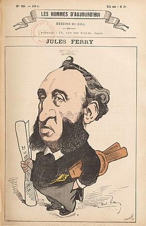 Conférence Molé-Tocqueville - Image: Les Hommes N 36 Jules Ferry
